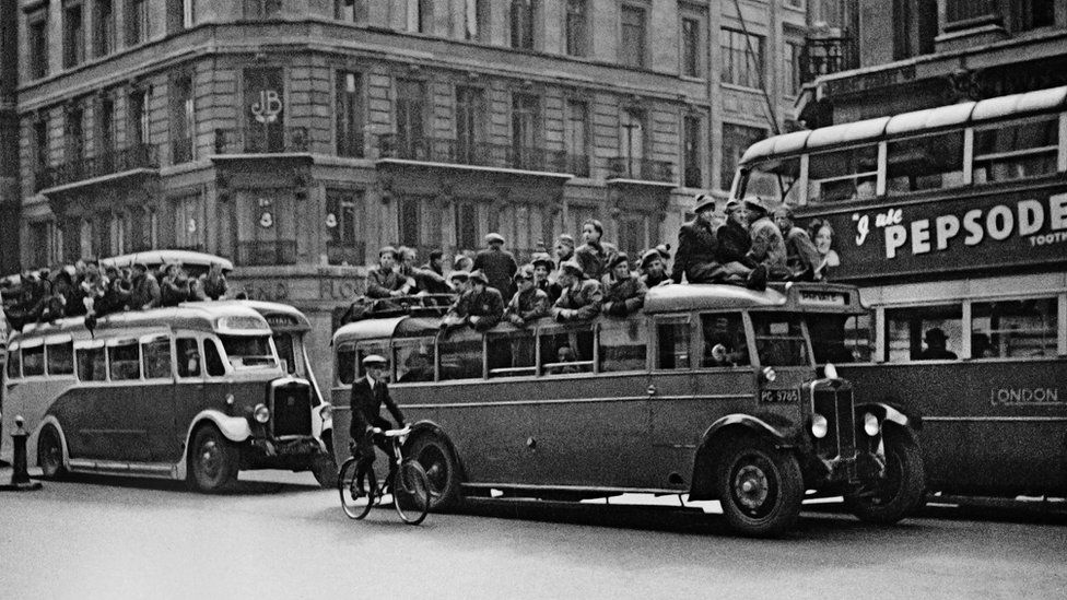 Cup final day. London, 1936