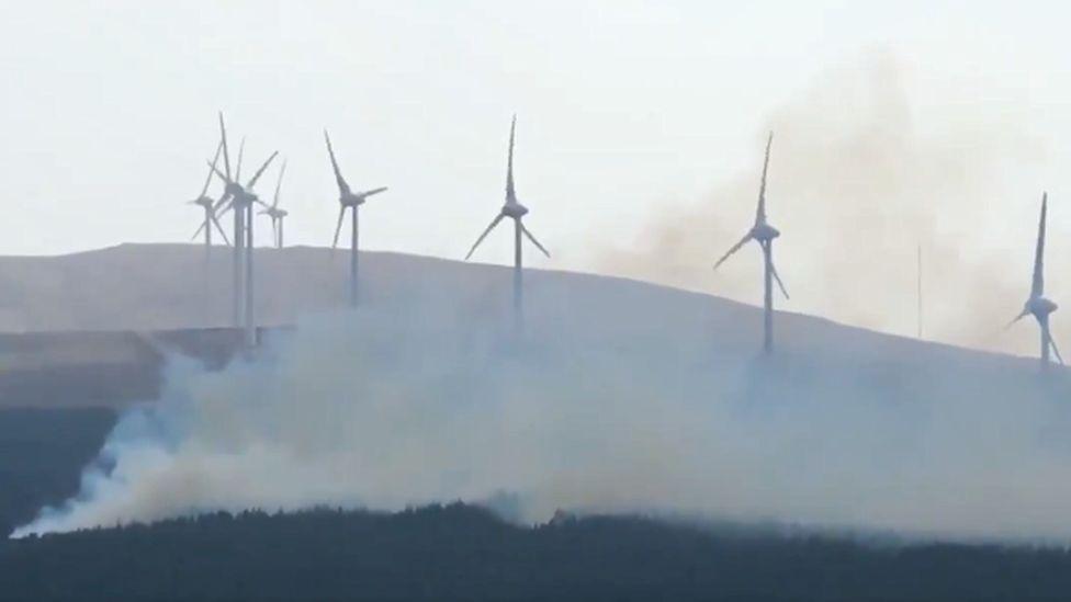 Skye wildfire