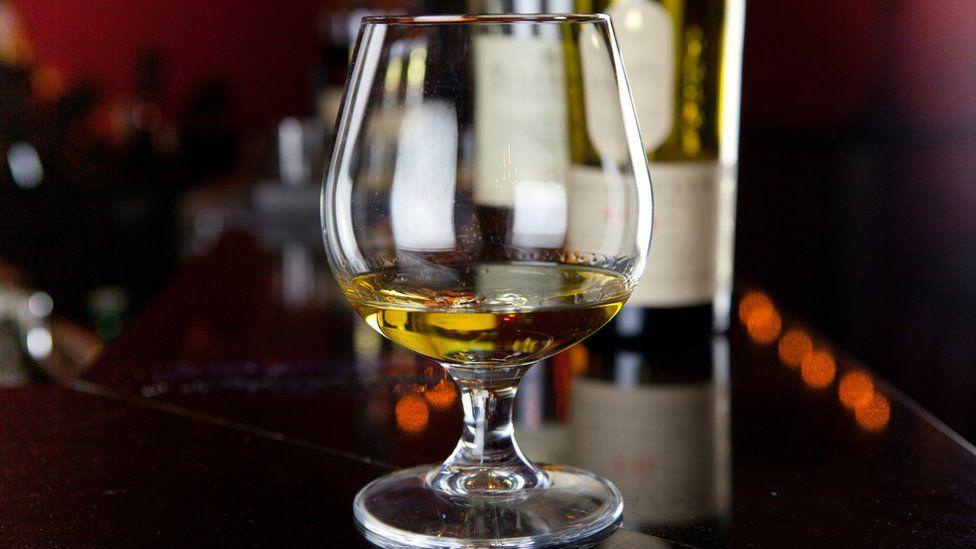 A snifter of scotch