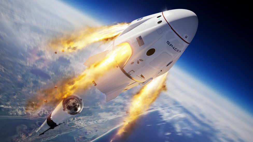 What is the SpaceX Crew Dragon? - BBC News