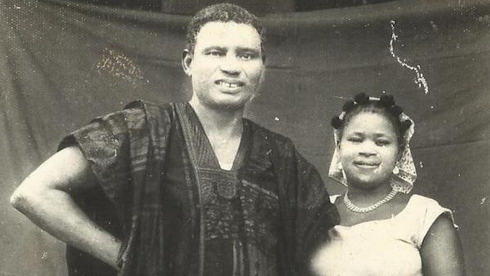Harcourt Whyte and his second wife, Roseline Echeziaku Harcourt.