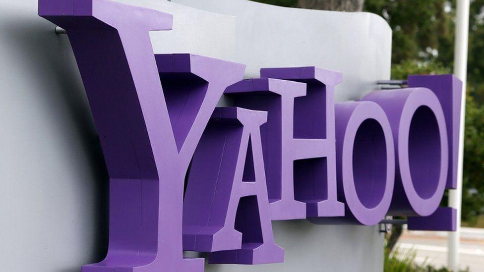 Yahoo sign