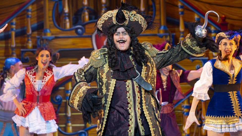 Jimmy Osmond in Peter Pan at Birmingham Hippodrome