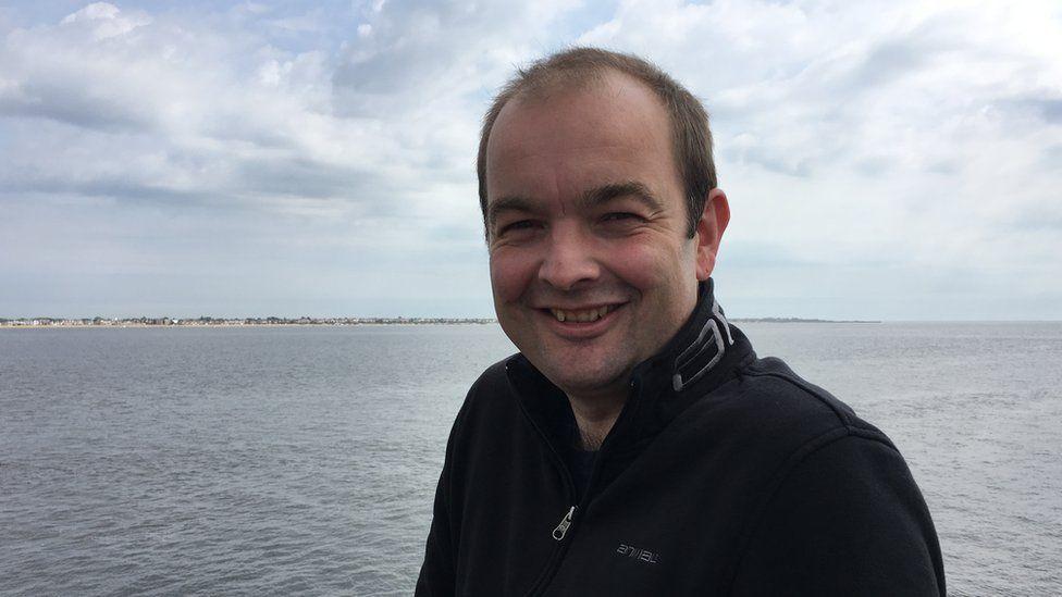 James Duddridge MP on the Southend Pier