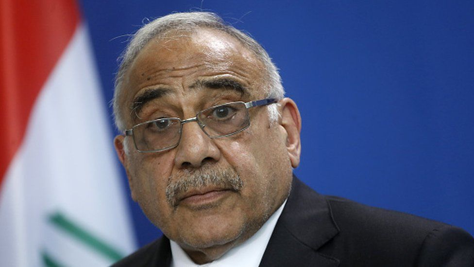 Iraq's Prime Minister Adel Abdel Mahdi has called for calm after three days of deadly protests