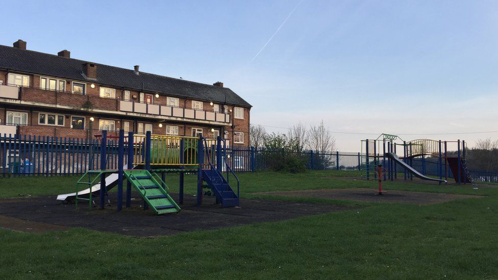 Jenkins Dale play area, Chatham