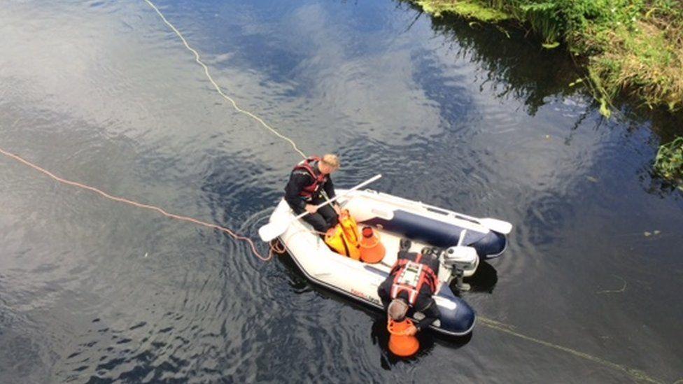 police river search