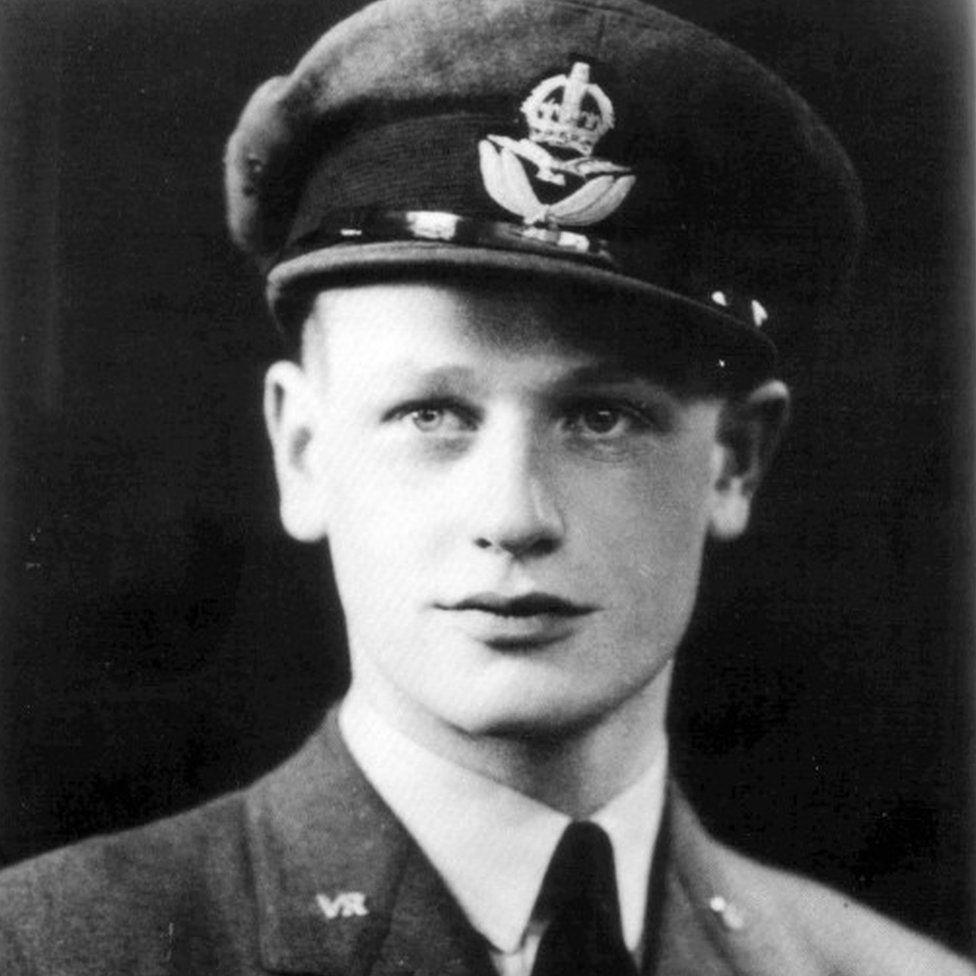 """Wing Commander Tom """"Ginger"""" Neil"""