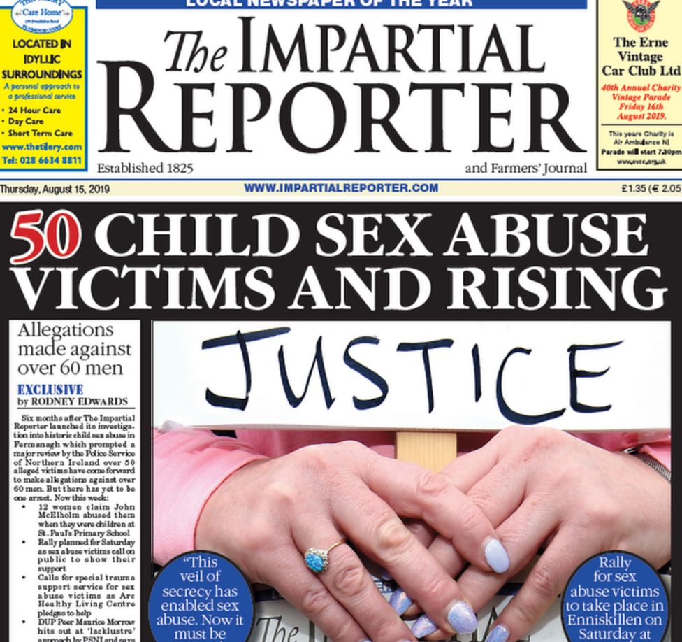 Fermanagh child abuse: Number of arrests over claims