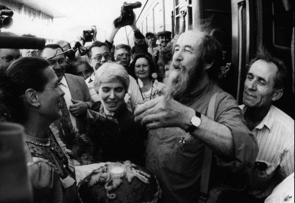 солженицын и поезд