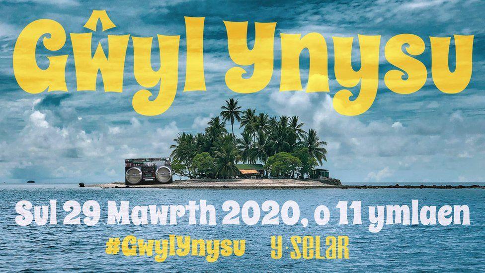 Poster Gwyl Ynysu