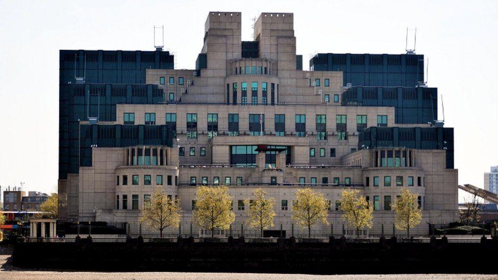 MI6 building in London