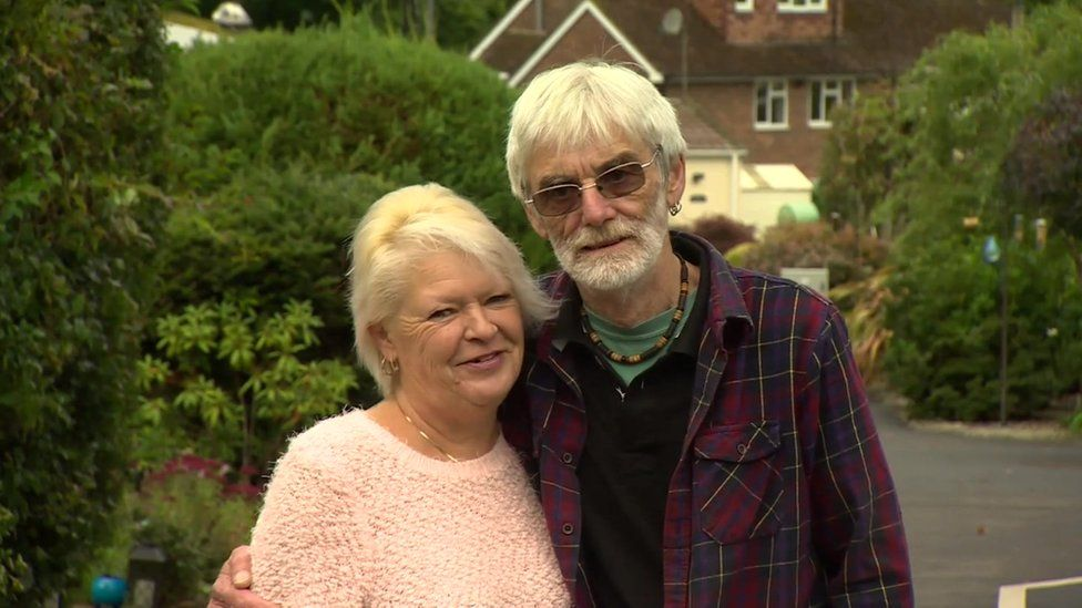 Sue and Dave Burden