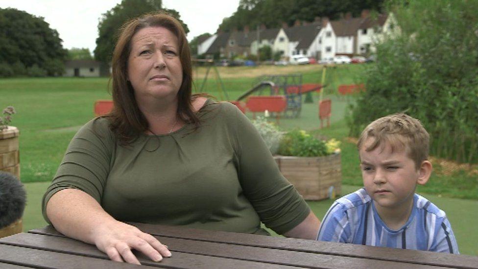Trudi with son Harrison