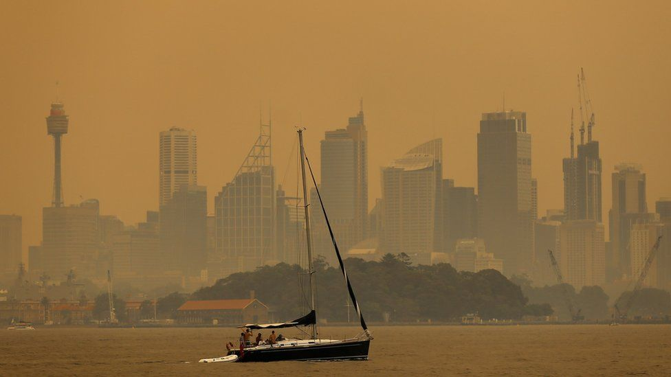 Why Australia's PM is facing climate anger amid bushfires