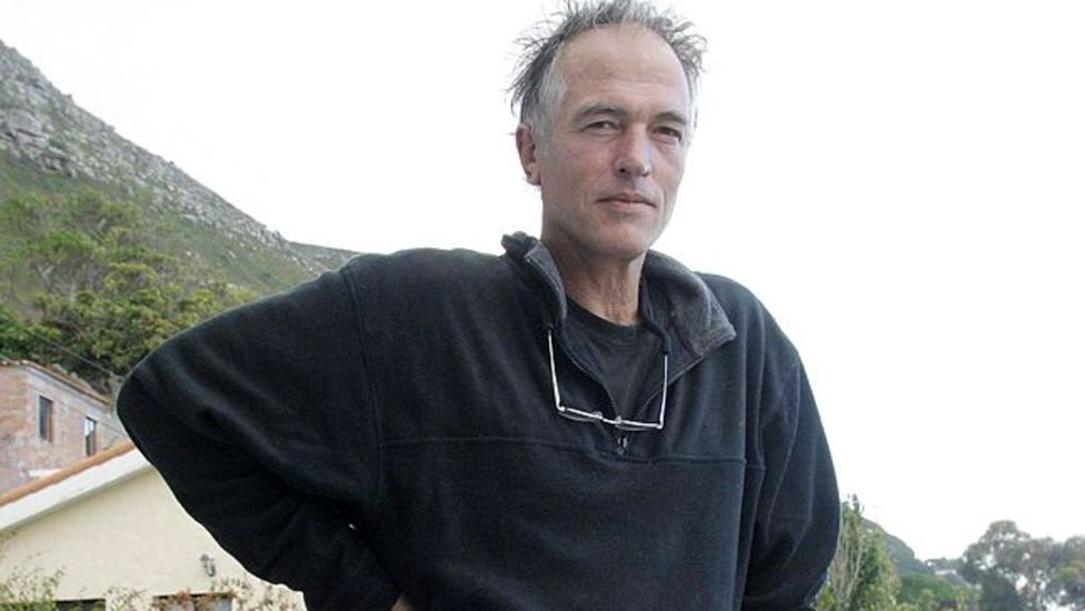South African writer Rian Malan pictured in 2004