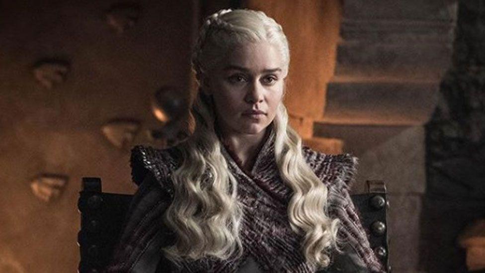 Dragon Queen Daenerys Targaryen in Game of Thrones
