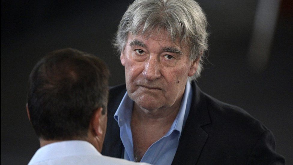 Acting Argentine Football Association Armando Perez, 24 February 2017