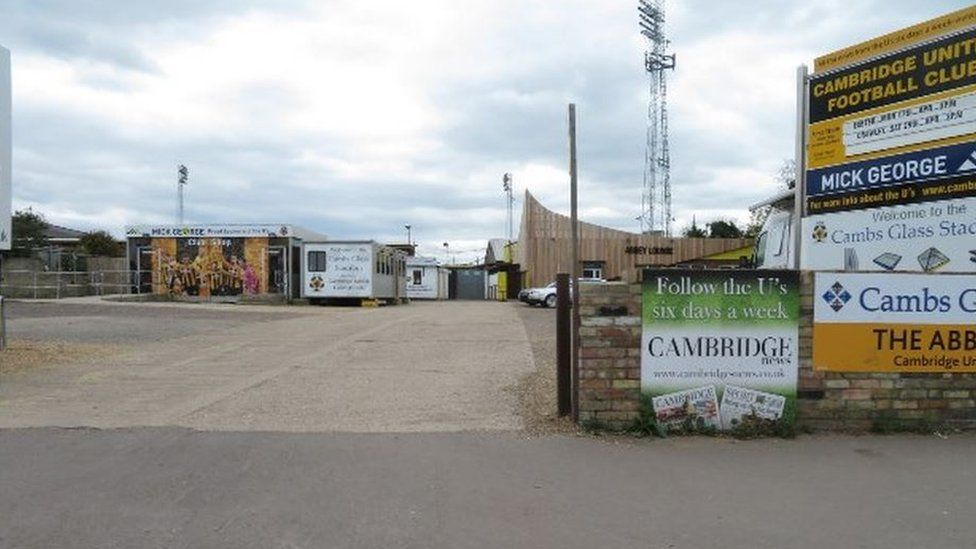 Cambridge Utd FC ground