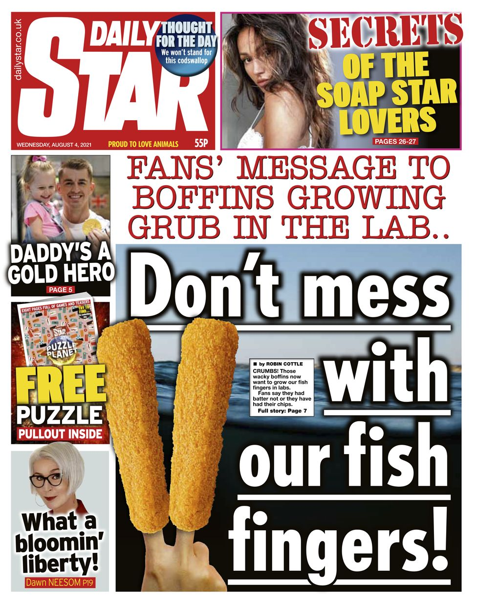 Daily Star - 04/08/21