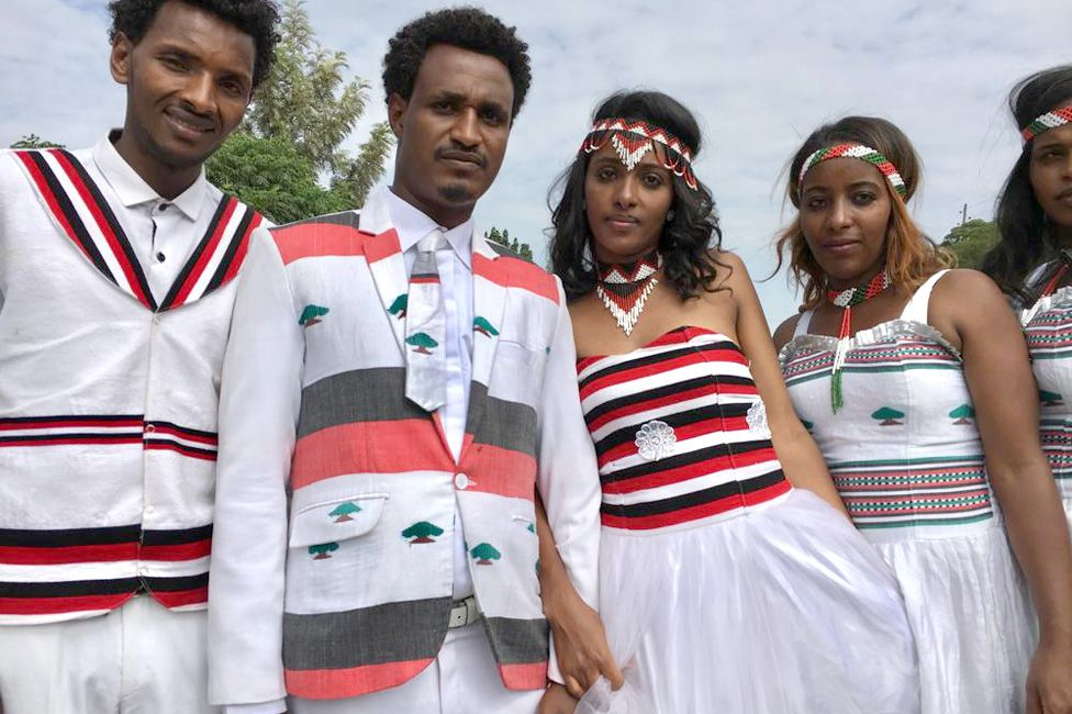 People from community of Oromo from different parts of Ethiopia celebrate Irreecha Afaan Oromo, also called Irreessa, a Thanksgiving holiday of the Oromo People in Ethiopia on September 30, 2018