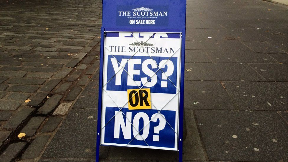 Scotsman billboard