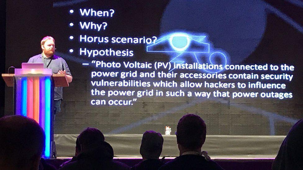 Willem Westerhof speaking at SHA2017