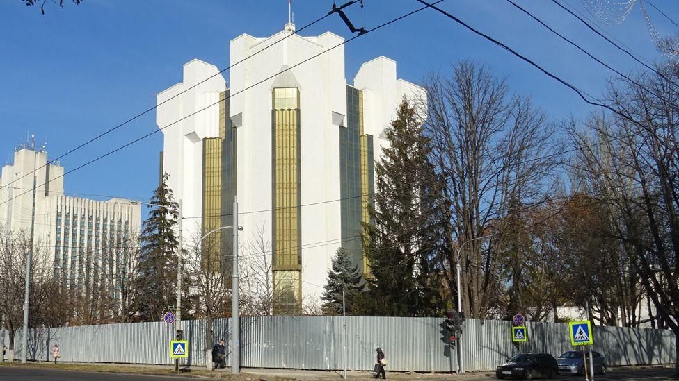 Presidency building, Chisinau
