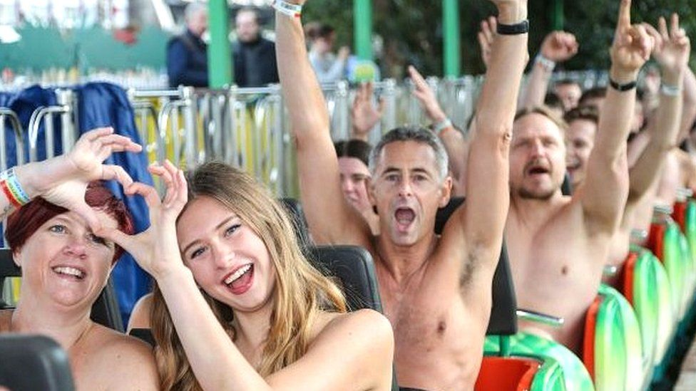 The Naked Rollercoaster 2015