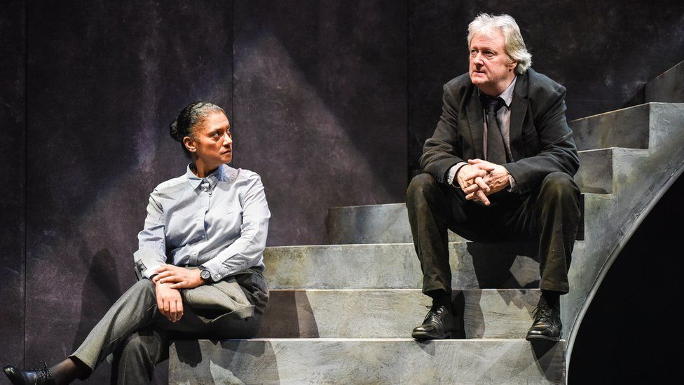 Charles Lawson and Cathy Tyson in Rebus - Long Shadows