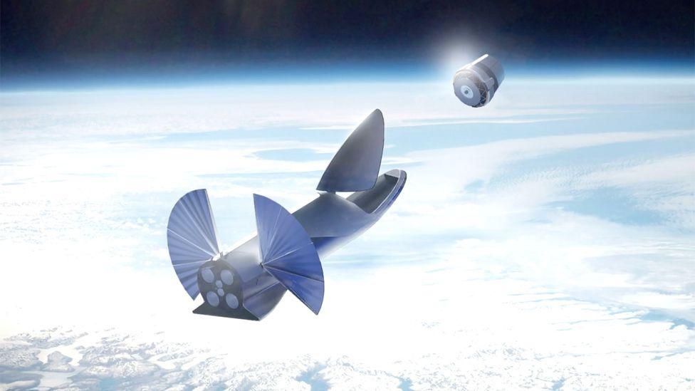 Elon Musk's spaceship