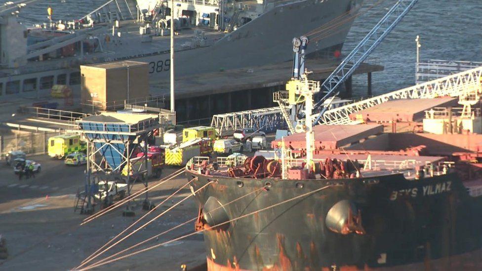 Portland Port emergency services