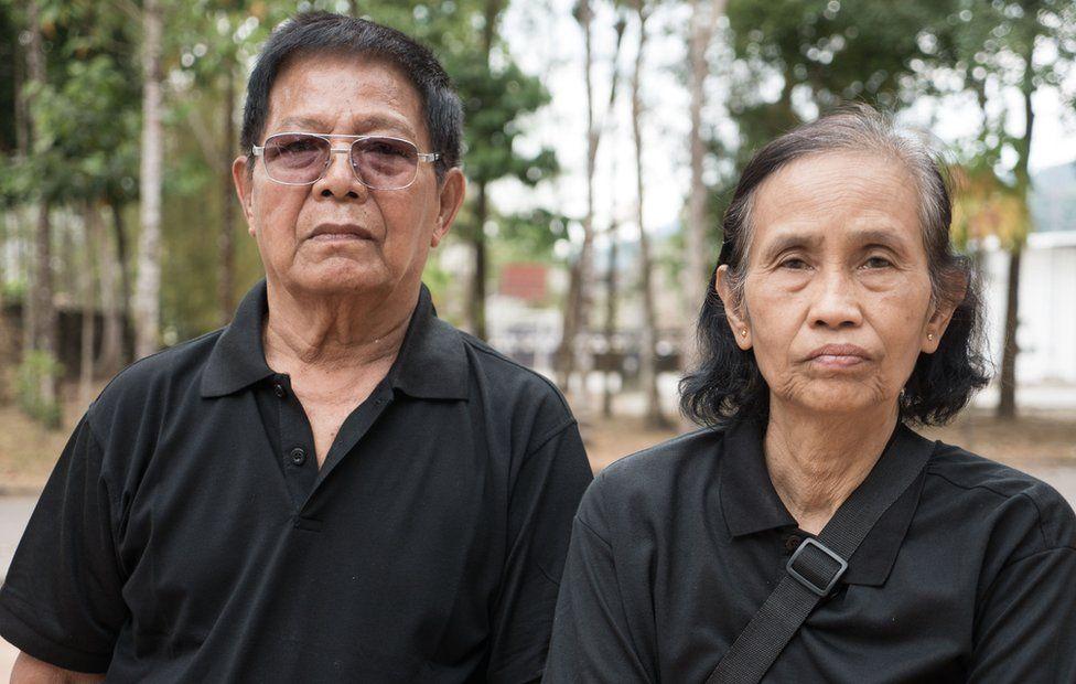 Hathaitip Modpai's parents