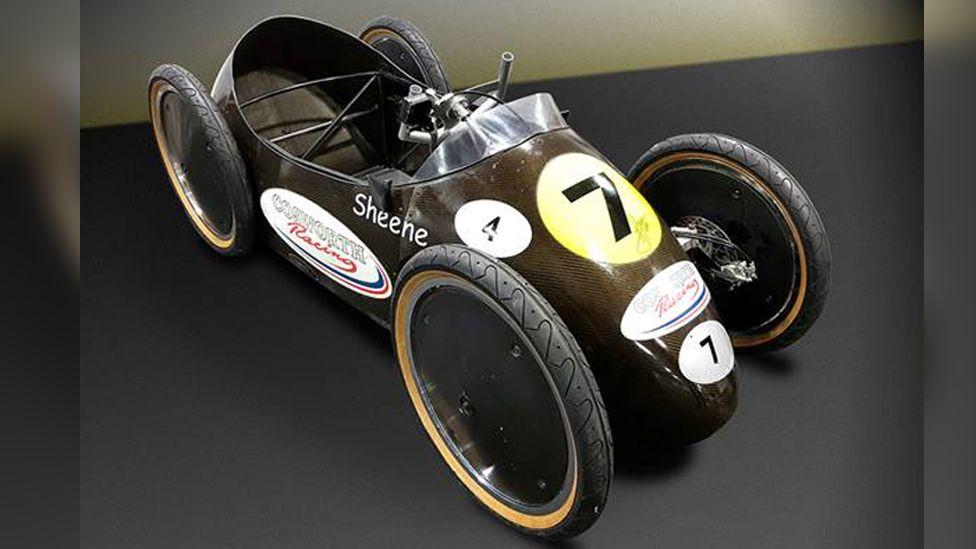 Barry Sheene's Cosworth Racing soapbox car