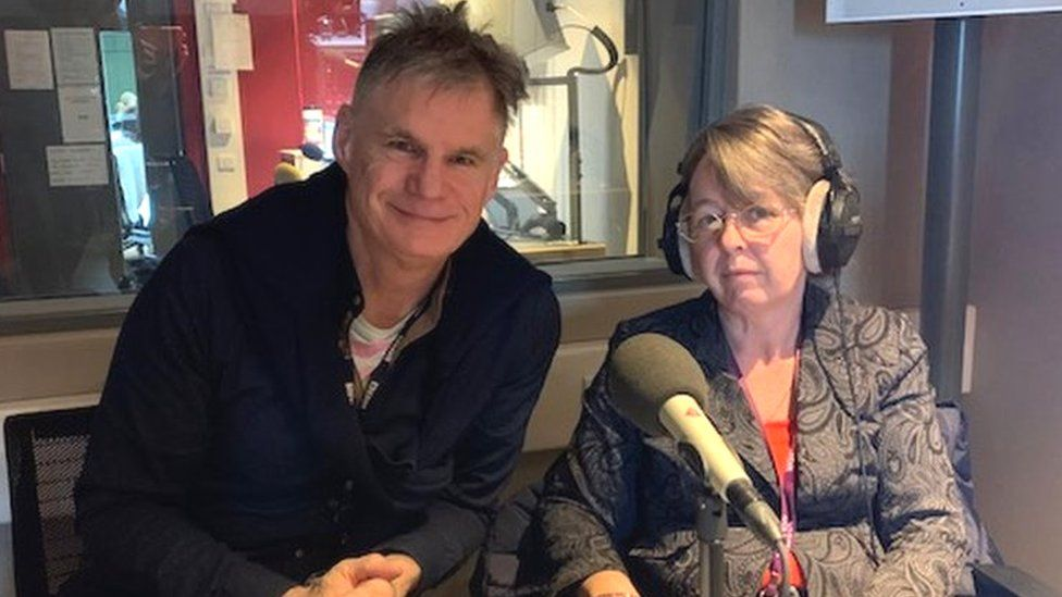 John Beattie and Donna O'Halloran