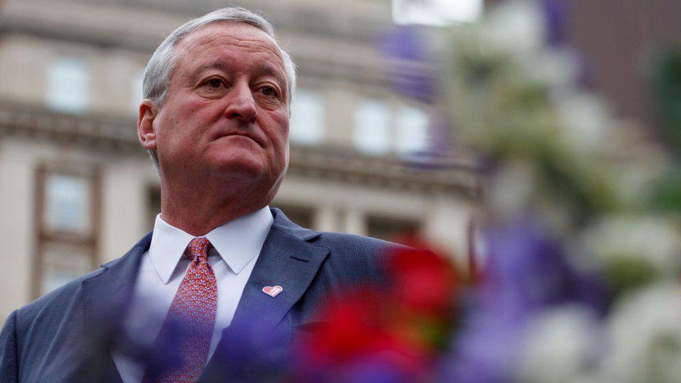 Philadelphia Mayor Jim Kenney has joined calls for gun control
