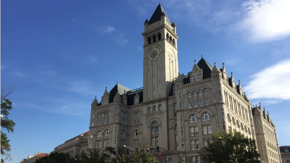 The Trump International Hotel in Washington