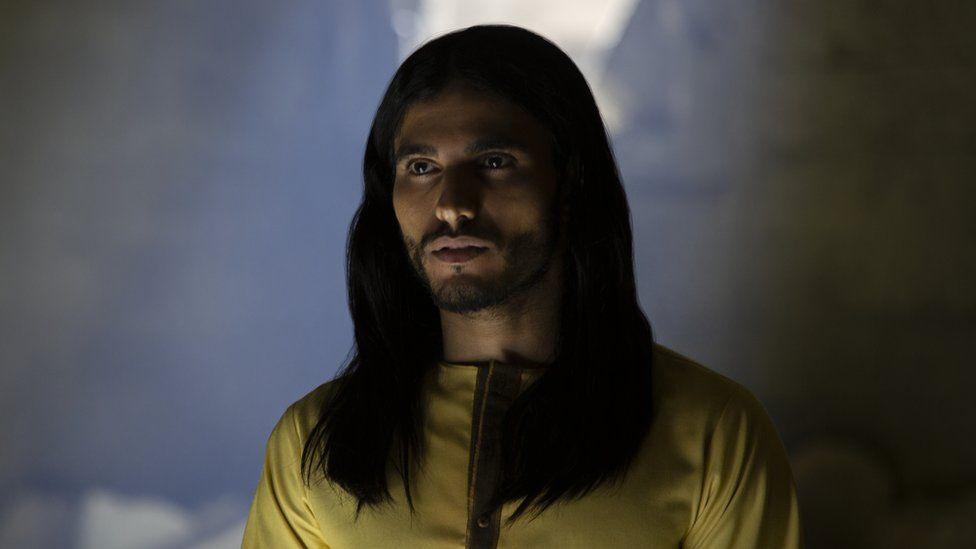Belgian actor Mehdi Dehbi as Al-Masih in Messiah