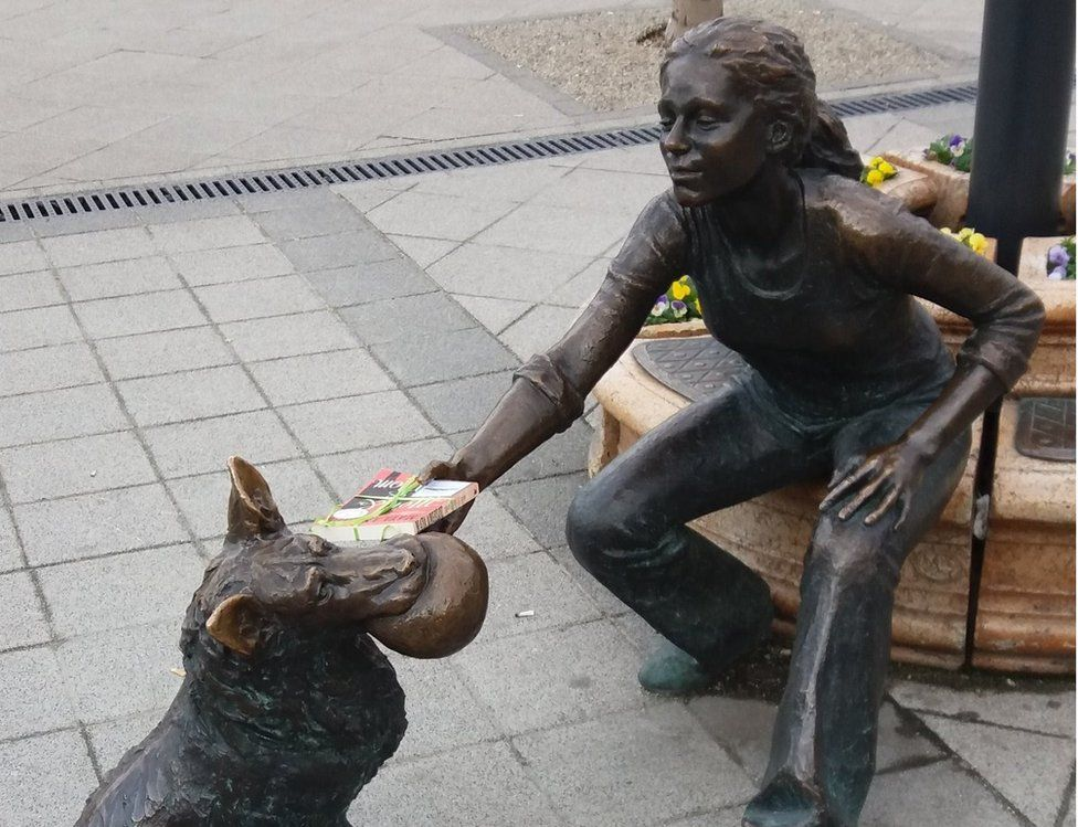 Book being left in Budapest