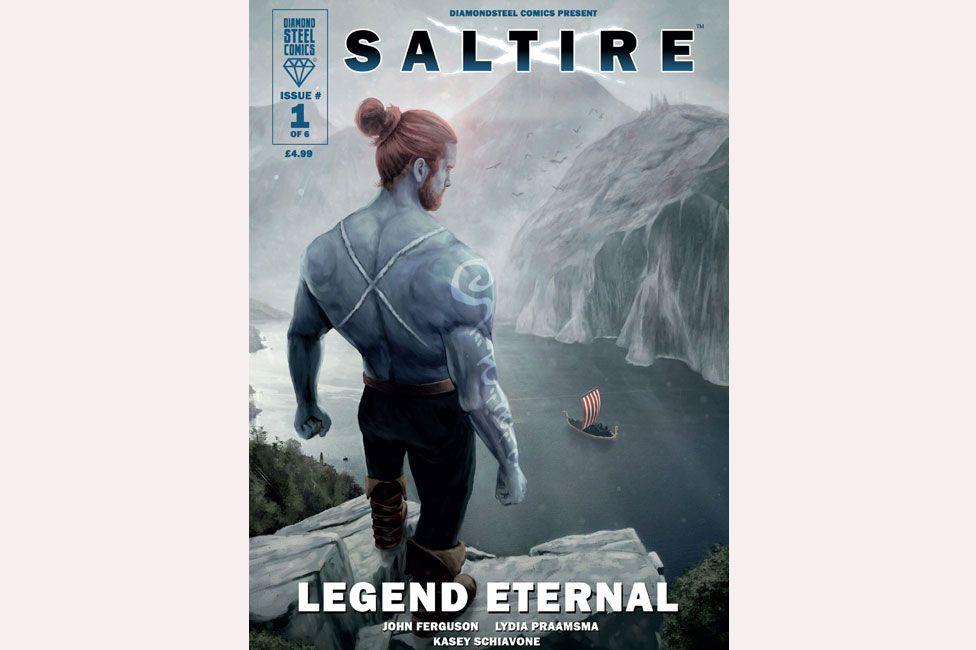 Saltire comic book