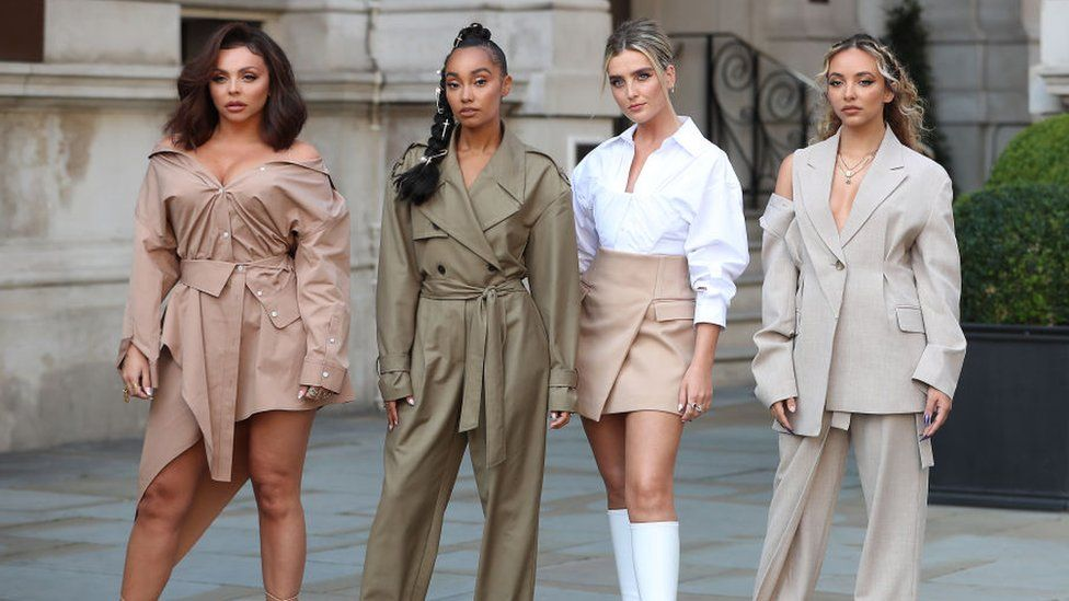 Little Mix's latest album, Confetti, entered the UK chart at number two on Friday