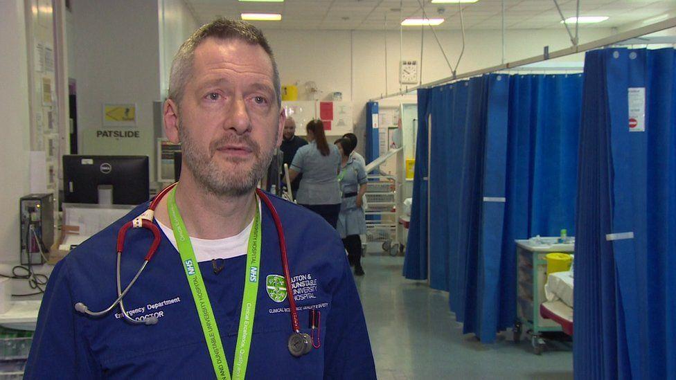 David Kirby, a senior consultant in emergency medicine