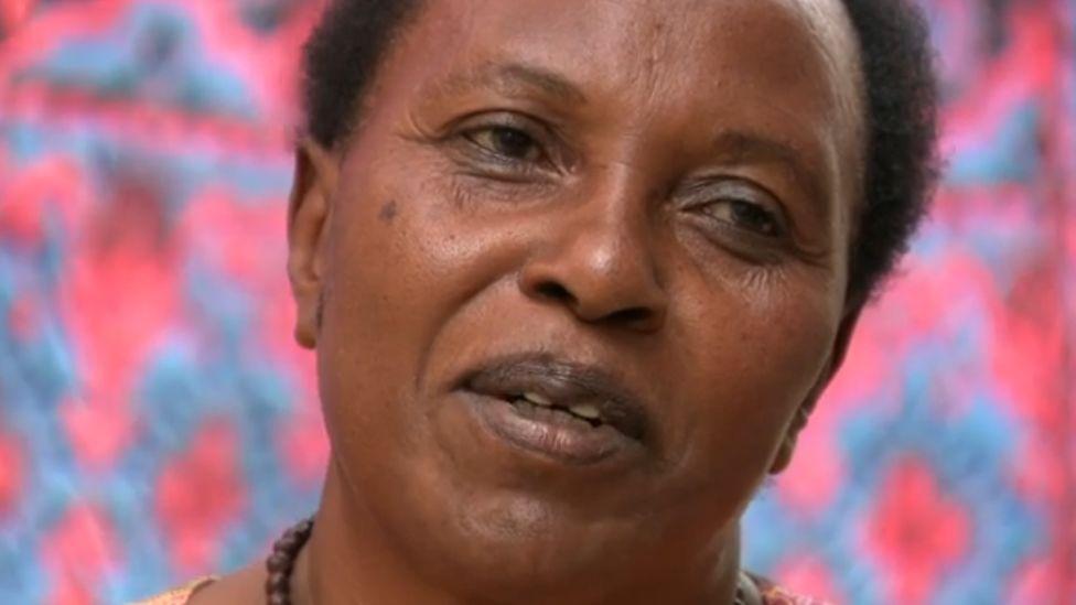 Cancer survivor Angeline Usanase