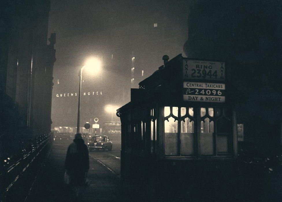 Queens Hotel, Leeds, 1950s, courtesy of Bianca Wallis-Salmon