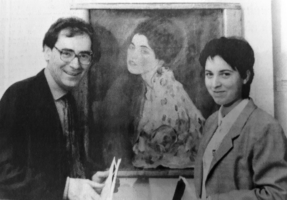 Stefano Fugazza and Claudia Maga