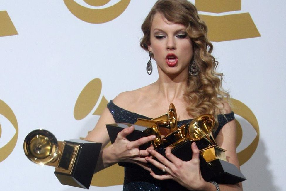 Taylor Swift at the 2010 Grammys
