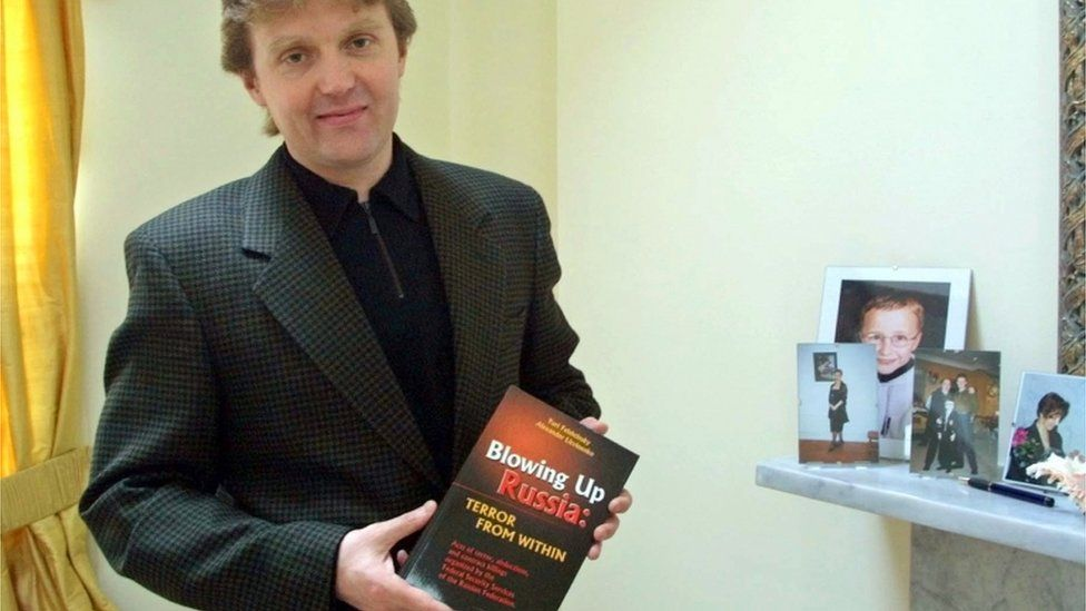 """Alexander Litvinenko, author of the book """"Blowing Up Russia: Terror From Within"""""""