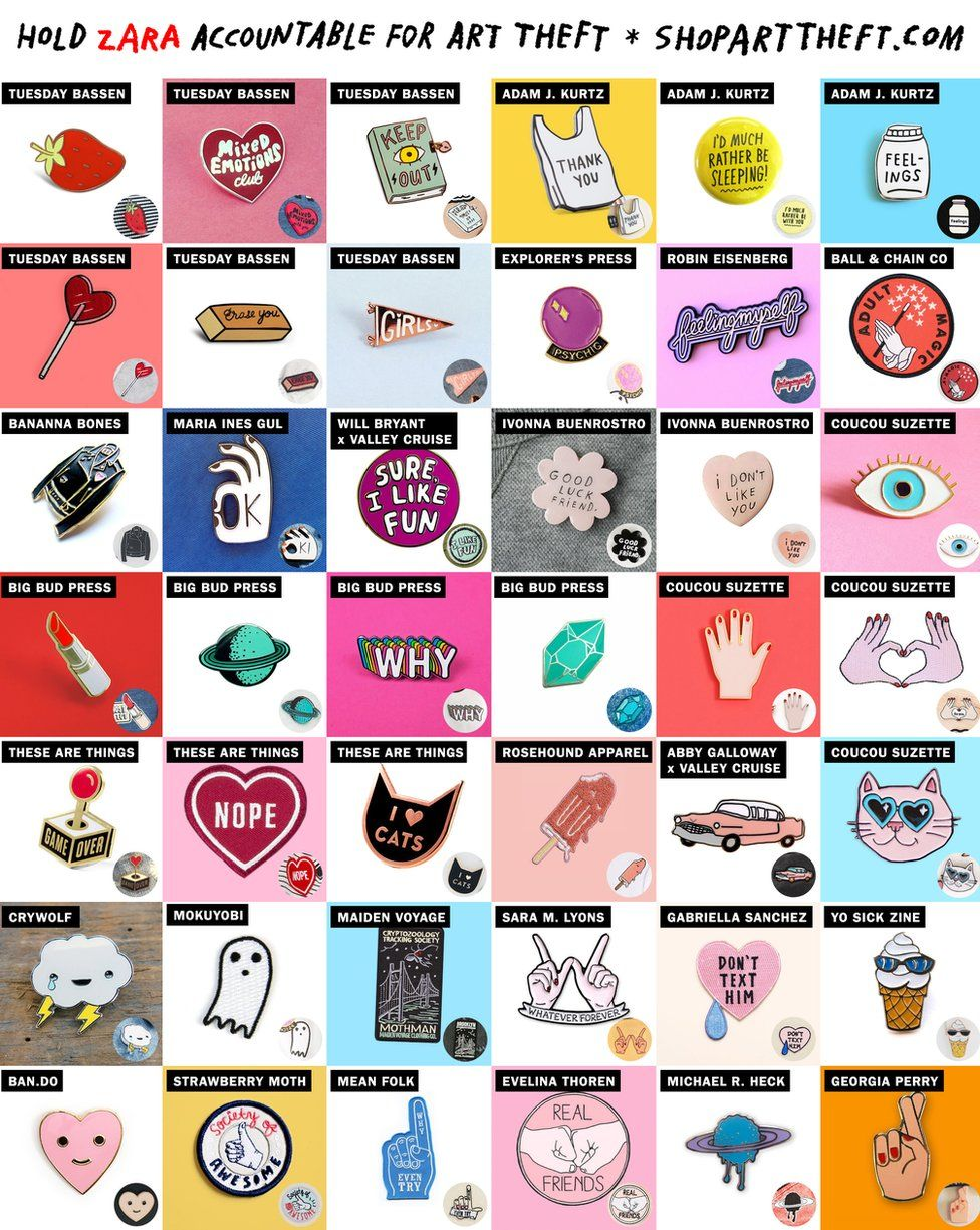 Artist badges and patches