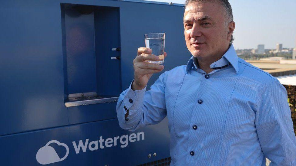Watergen CEO Michael Mirilashvili