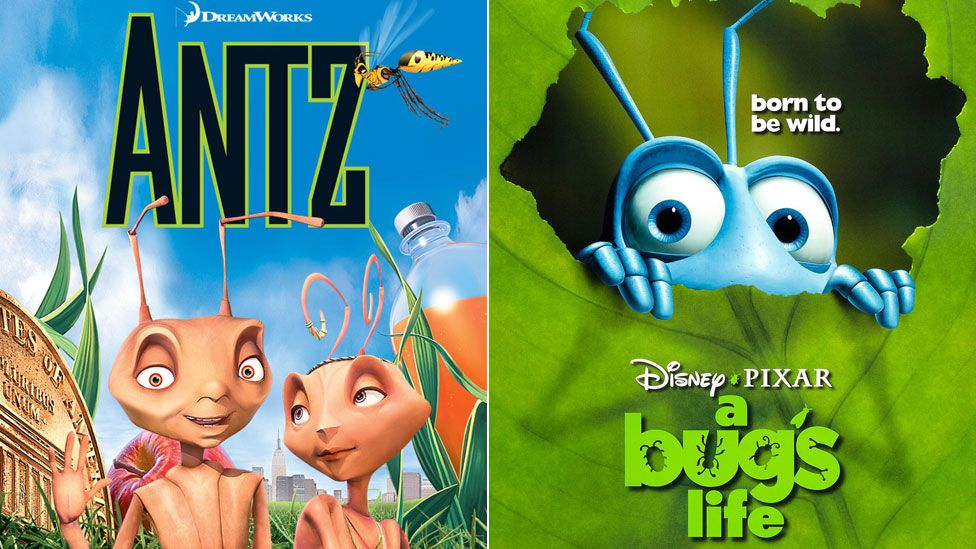 Antz and A Bug's Life